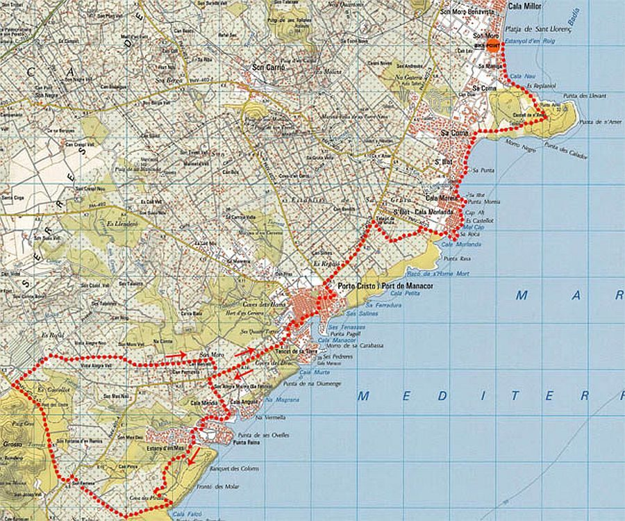 Tour 4 – Cala Varques