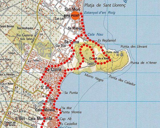 Tour 1 – Sa Punta de n'Amer
